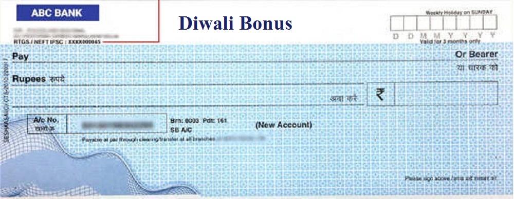 Bonus Cheques