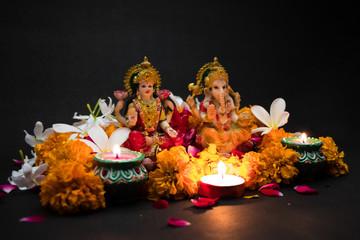 Laxmi Ganesh Idols For Diwali