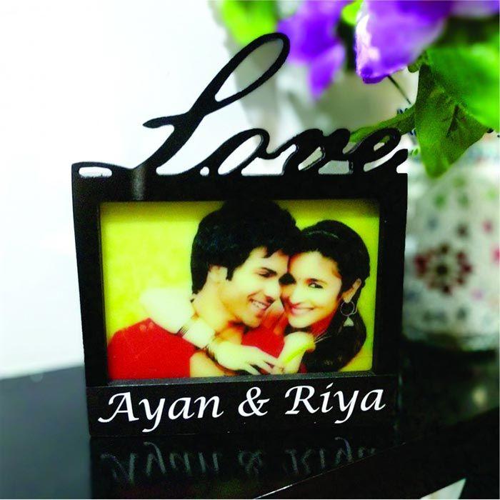 Love Photo Frame Lamp
