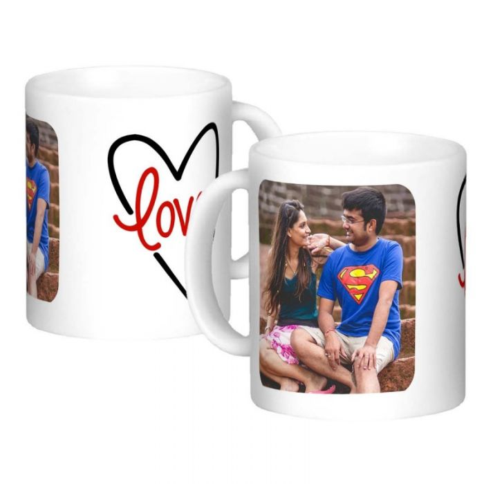 Love Photo Customized Mug