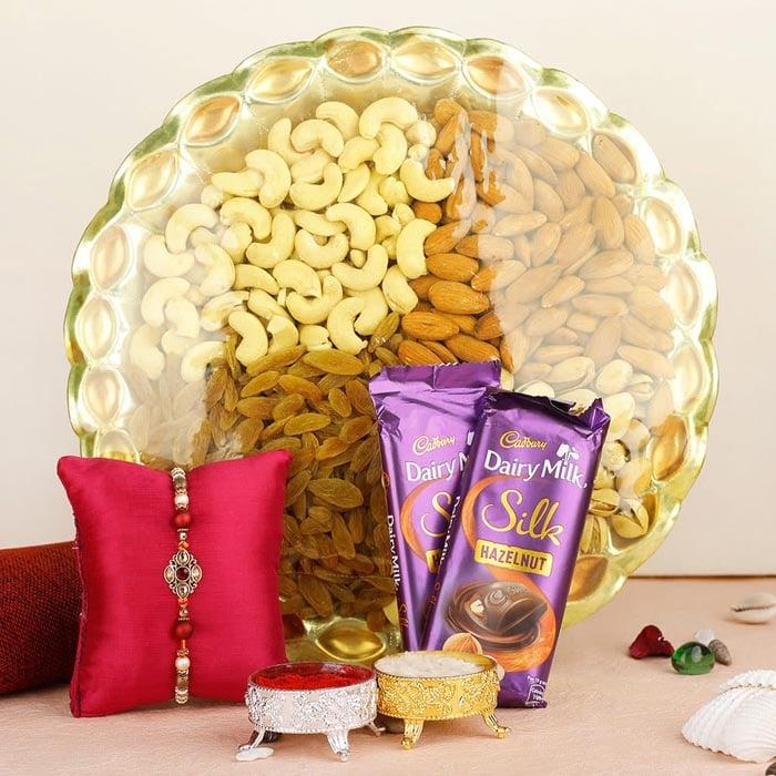 Rakhi With Dryfruits online