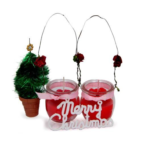 Candles N Christmas Tree