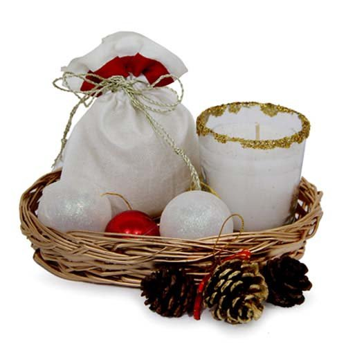 Choco N Candles Basket