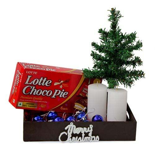 Choco Pie N Christmas Tree