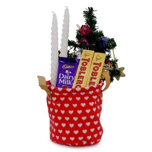 Choco N Christmas Tree Pouch