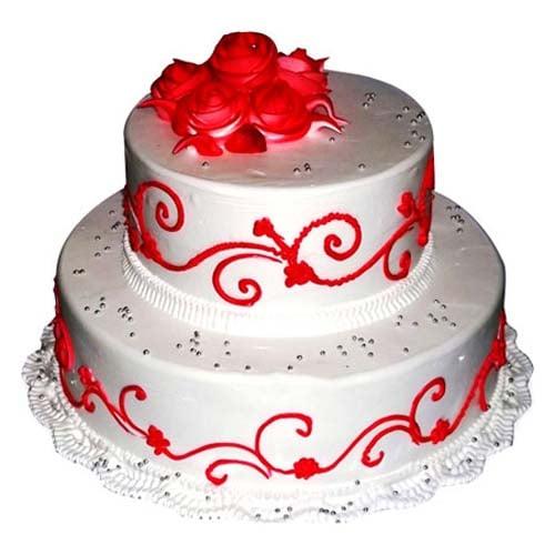The Royal Three Tier Cake - 3kg