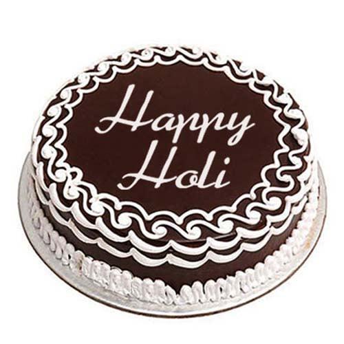 Holi Special Chocolate Cake Half Kg