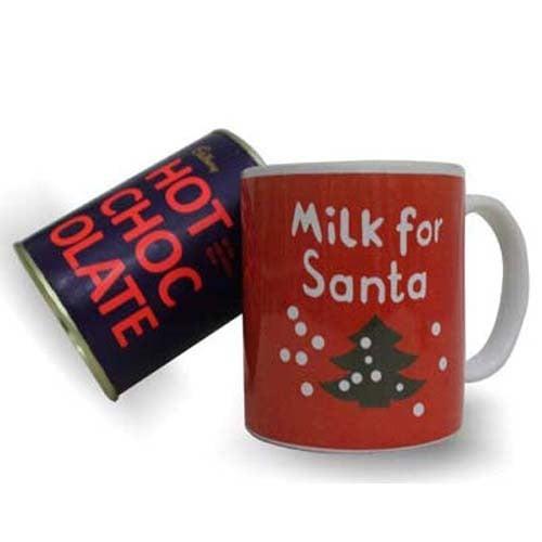 Santa Mug N Hot Chocolate