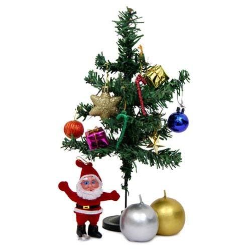 Christmas Tree N Ball Candles