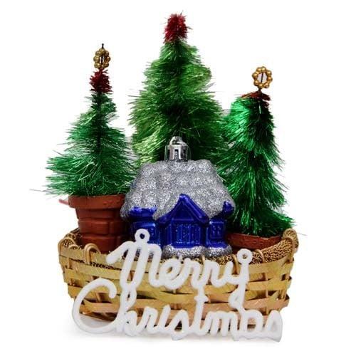 Decorative Christmas Basket