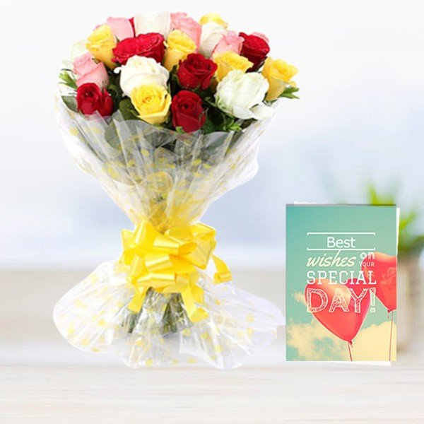 Flwers and Greeting card online