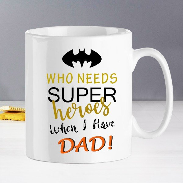 Dad Is My Super Hero Mug
