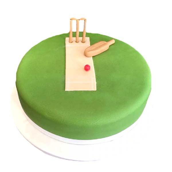 Cricket Ground Theme 1 kg Cake