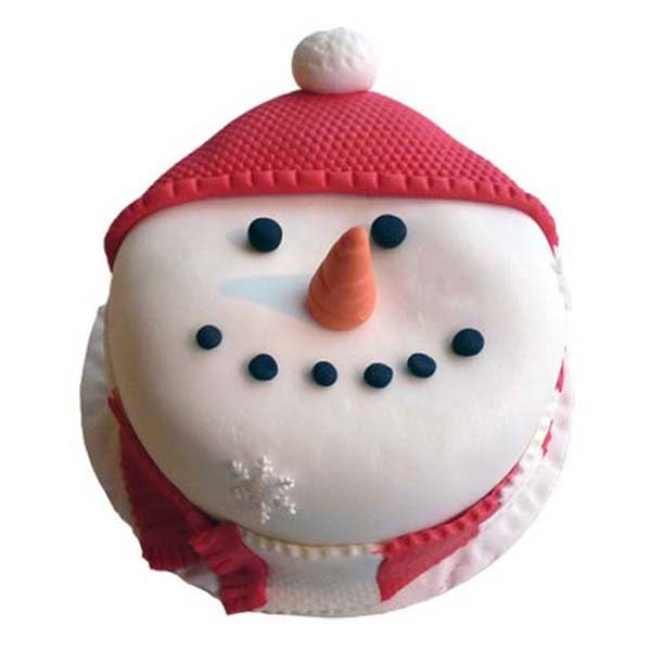 2 kg Happy Snowman Cake
