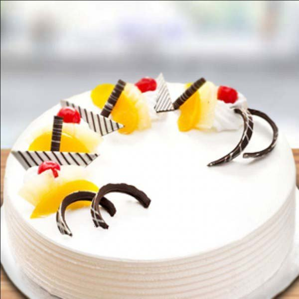 Pineapple Round Delicious Cake