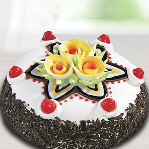 Star Black Forest Cake