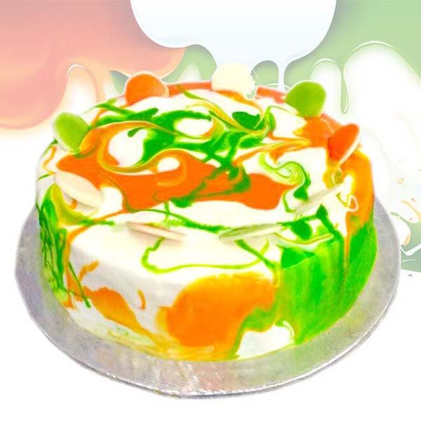 Indipendence day special cake 1 kg