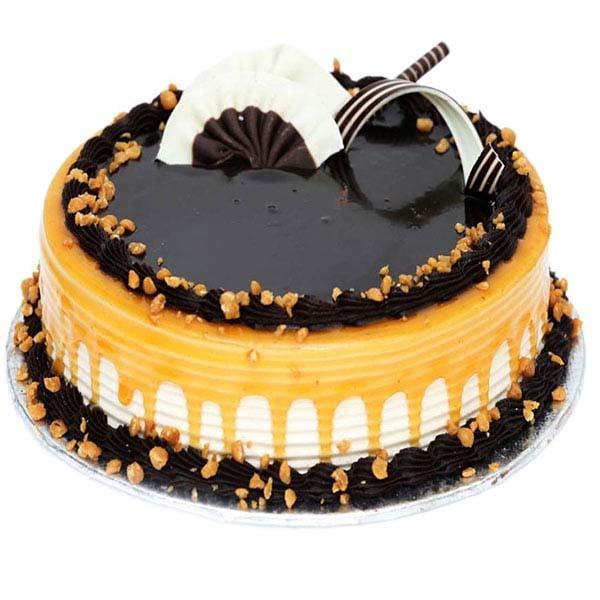Delightful Caramel Chocolate Cake 1 kg