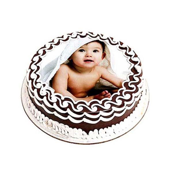 Chocolate Photo Cake 1 kg