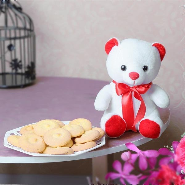 Assorted Cookies with Teddy