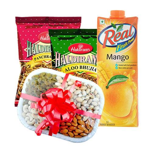 Haldirams , Real & Dryfruits Hamper