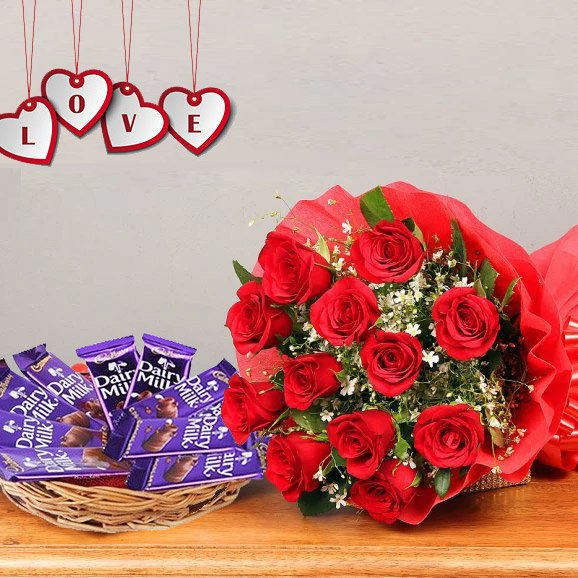Flwers and chocolates delivery online