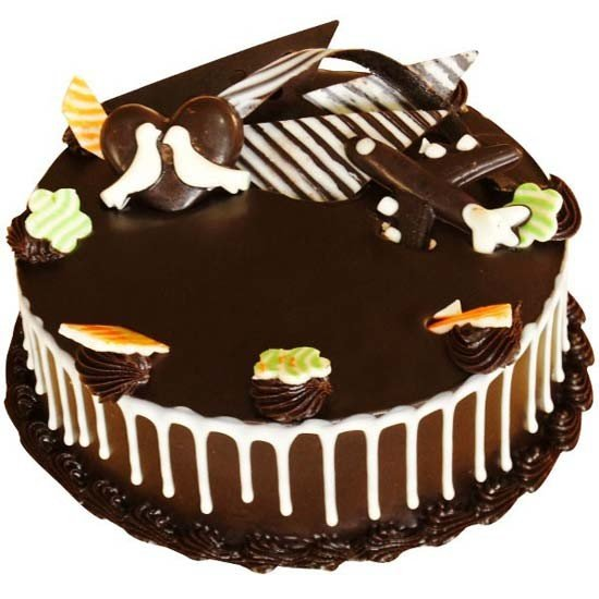 Dark Wonder Chocolate Cake