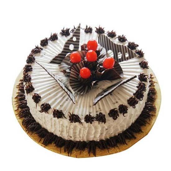 1kg Eggless Chocolate Cherry Cake