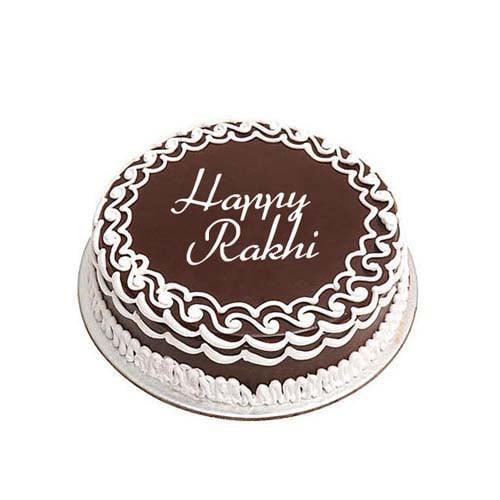 Rakhi Special Chocolate Cake Half kg