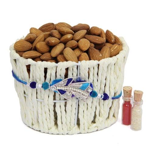 Almonds In Basket
