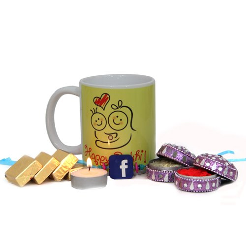 Facebook Rakhi Gift Pack