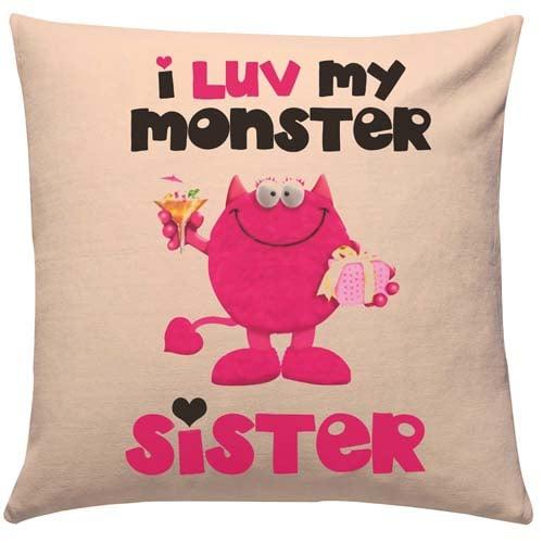 Love Monster Sister Cushion
