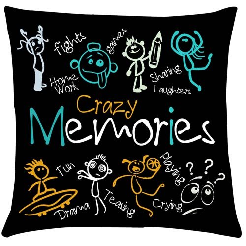 Crazy Memories Cushion