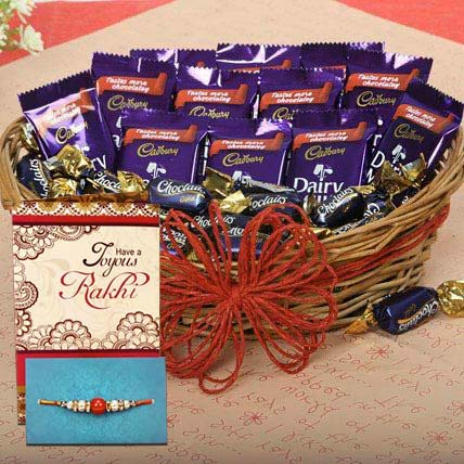 Rakhi Loaded With Chocolates
