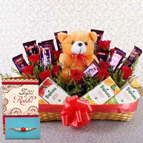Perfect Rakhi  Gifting Arrangement