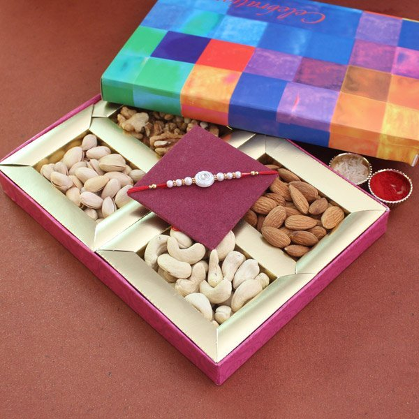 Dryfruits with rakhi Surprise Combo