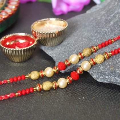 Set of 2 Rakhi Online