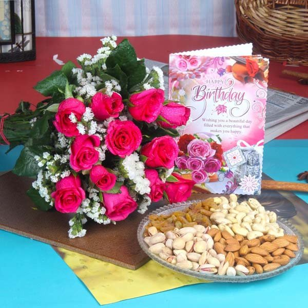 Dryfruit Combo for Healthy Birthday Wishes
