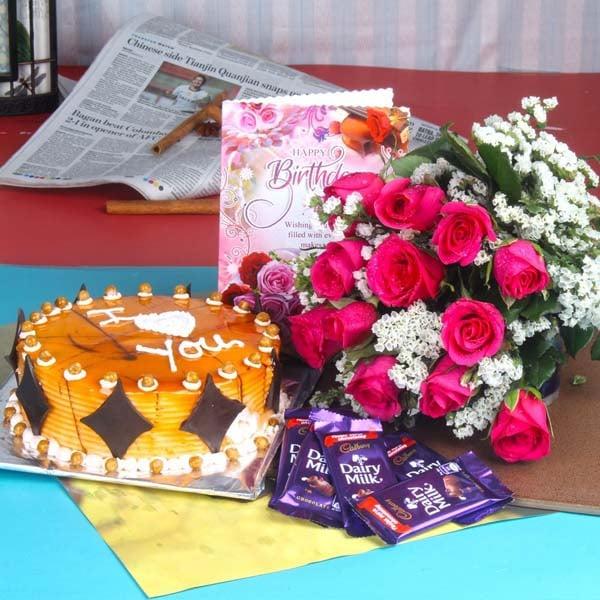 Dairy Milk Chocolates Love Token for Your Birthday
