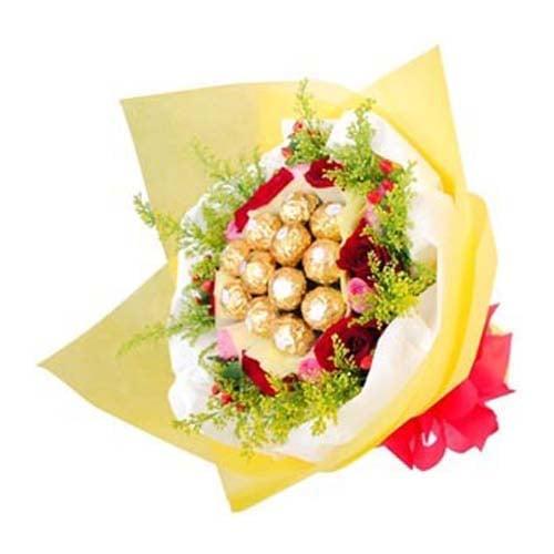 Roses & Ferrero Rocher Bunch