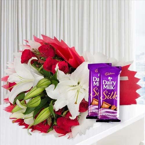 Love Lillies and Chocolates