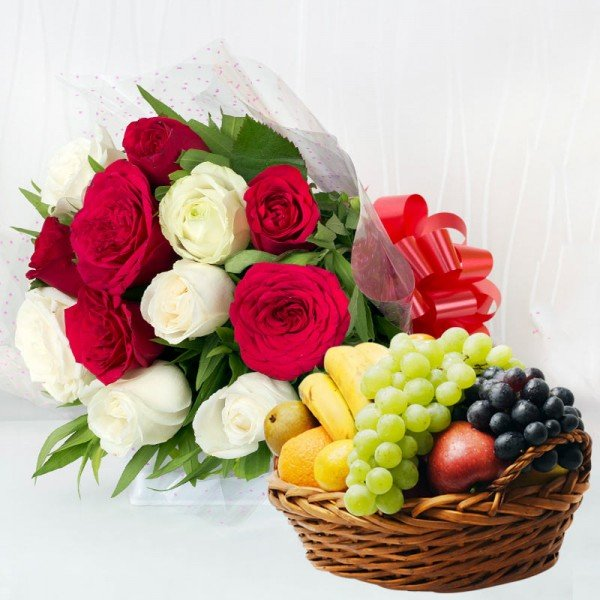 Birthday Flowers and fruits Online Delivery