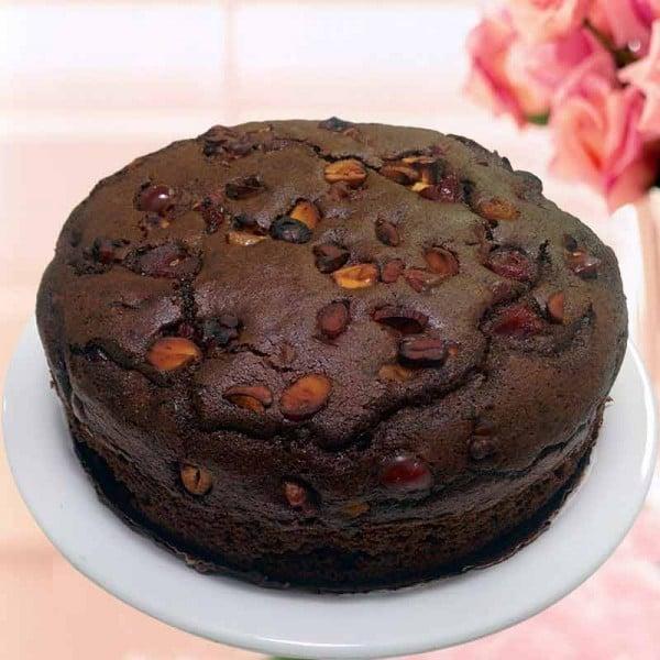 Cherry Chocolate Dry Cake