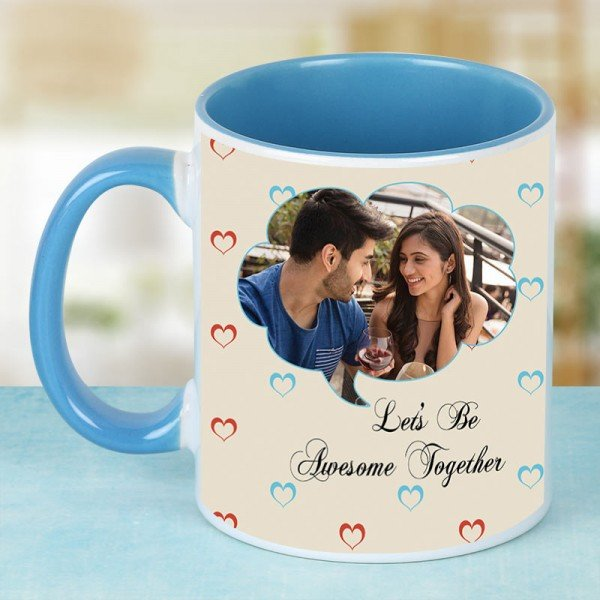 Lets Be Awesome Together Mug