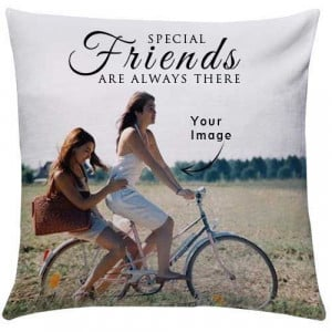Personalize Special Friends Cushion