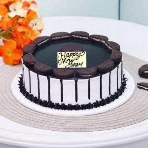 New Year Oreo Fantasy Cake