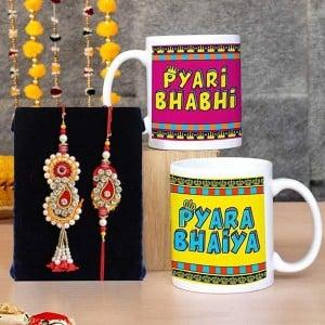 Bhaiya Bhabhi Rakhi with mug