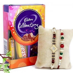 Chocolate Hamper Rakhi Combo
