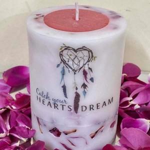 Catch Ur Heart Rose Sandle Pillar