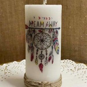 Dream Catcher Pillar Fragrance Candle